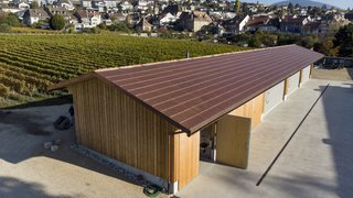Les Caves du Château d'Auvernier récompensées pour leur toit solaire