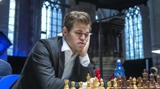 Jeu d'échecs: un record pour Magnus Carlsen, invaincu depuis 101 parties