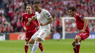 Football – Euro 2020: la Suisse s'incline face au Danemark sur le score de 1-0.