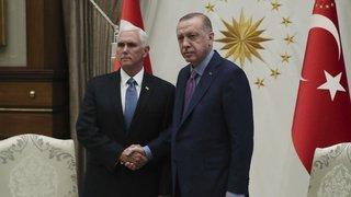 La Turquie et les Etats-Unis s'entendent sur un cessez-le-feu dans le nord de la Syrie