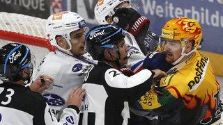 Hockey: Fribourg Gottéron battu par les Zurich Lions, nouveau leader
