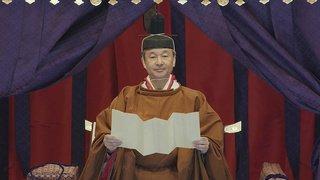 Japon: le nouvel empereur Naruhito a proclamé son intronisation