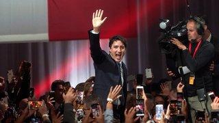 Canada: Justin Trudeau reconduit à la tête d'un gouvernement minoritaire