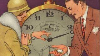 Les mille temps de la publicité horlogère