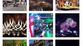 Neuchâtel: la Fête des vendanges vue d'Instagram