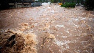 Espagne: en images, les inondations impressionnantes qui touchent la Catalogne