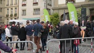 Fédérales 2019: la réaction de Regula Rytz, présidente des Verts suisses