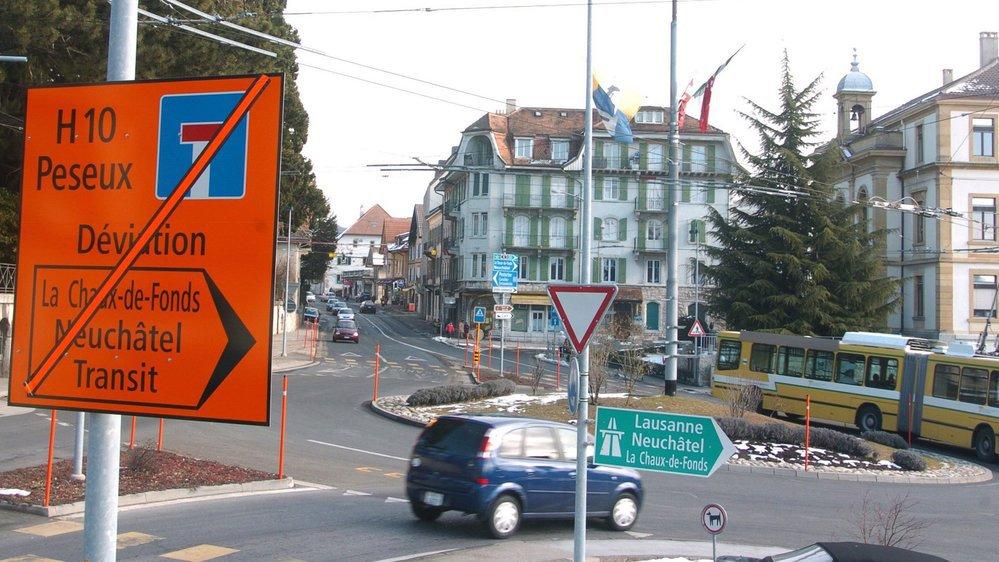 Comme en 2006-2007, des mesures de détournement de trafic devront être prises durant les travaux sur la traversée de Peseux.