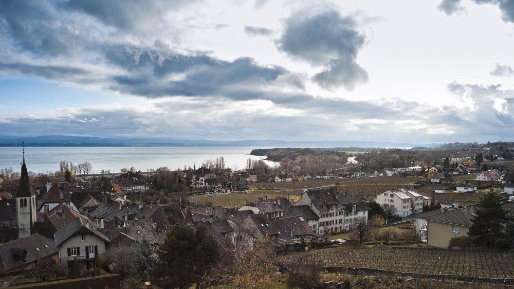 A Bôle, comme ici à Auvernier, d'importants travaux d'infrastructures vont être entrepris l'année prochaine.