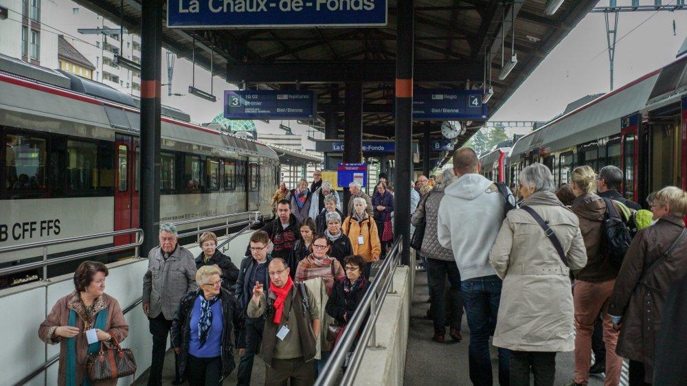 Les passagers entre Neuchâtel et La Chaux-de-Fonds ont connu des soucis cette semaine. A l'image de Gérard.
