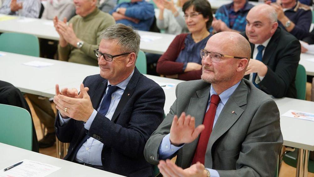 Grégoire Cario était assis juste derrière Yvan Perrin lors de la désignation des candidats aux Fédérales de l'UDC neuchâteloise, en mars dernier à Couvet.