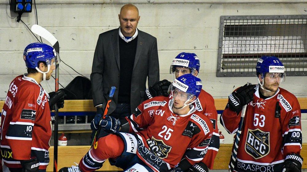 Mikael Kvarnström et son équipe semblent prêts pour repartir du bon patin.