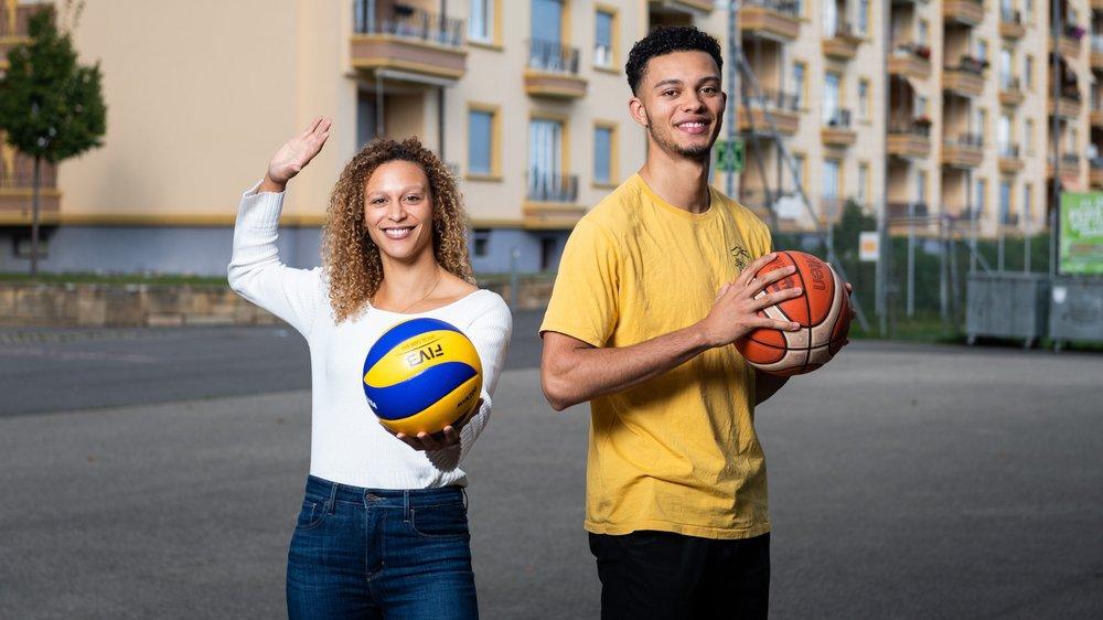 Inès et Yoan Granvorka: deux sports, une passion identique et une même recherche de l'excellence.