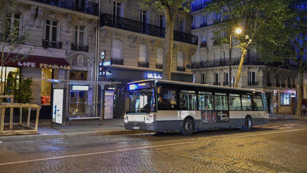 Un bus parisien de la RATP.
