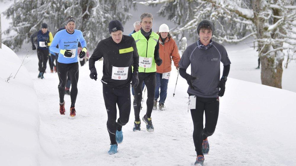 Les coureurs du trail de la prochaine Trotteuse emprunteront le même parcours qu'en 2017.