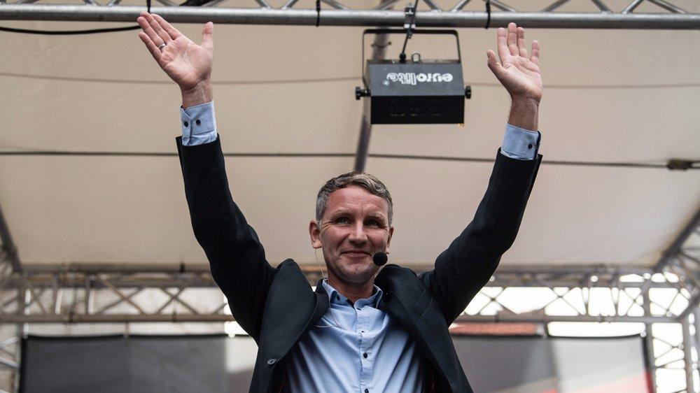 Björn Höcke, l'homme «qui parle comme Hitler», pourrait attirer près d'un électeur sur quatre demain dans le Land de Thuringe.