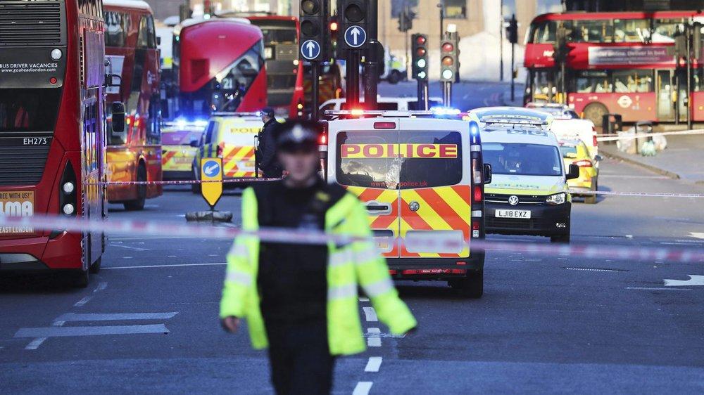 Les environs de London Bridge ont été bouclés après l'attaque.