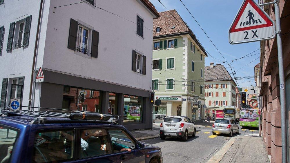 Dans quelques années, il n'y aura plus de voitures au carrefour entre les rues Neuve et de la Balance.