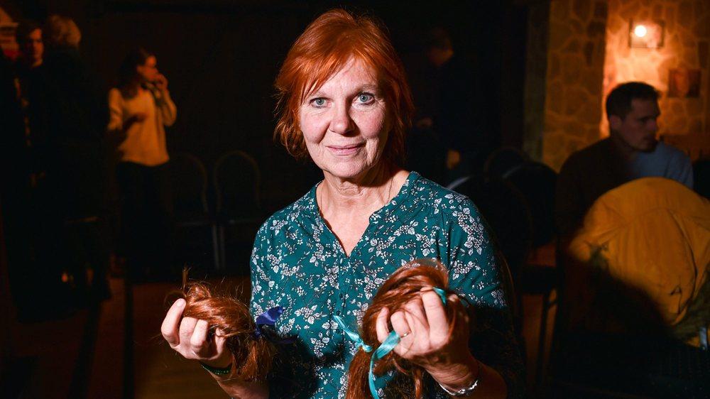 """""""J'avais 6 ans lorsque mes camarades ont coupé ma chevelure"""", raconte cette participante au Festival des roux.    LES BREULEUX 29/11/2019 Photo: Christian Galley"""