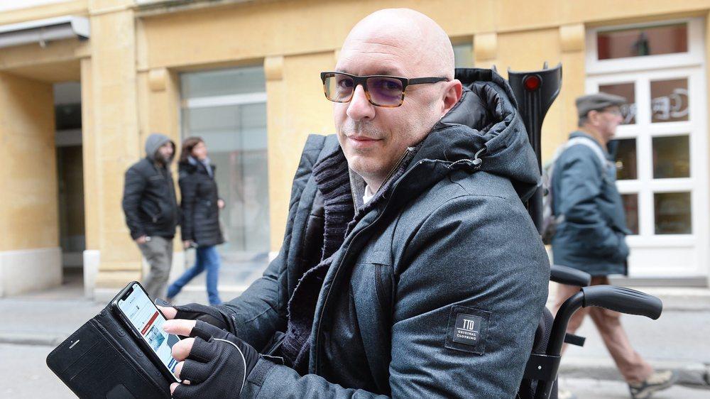 Alexandre Fallet lancera son application en début d'année prochaine.