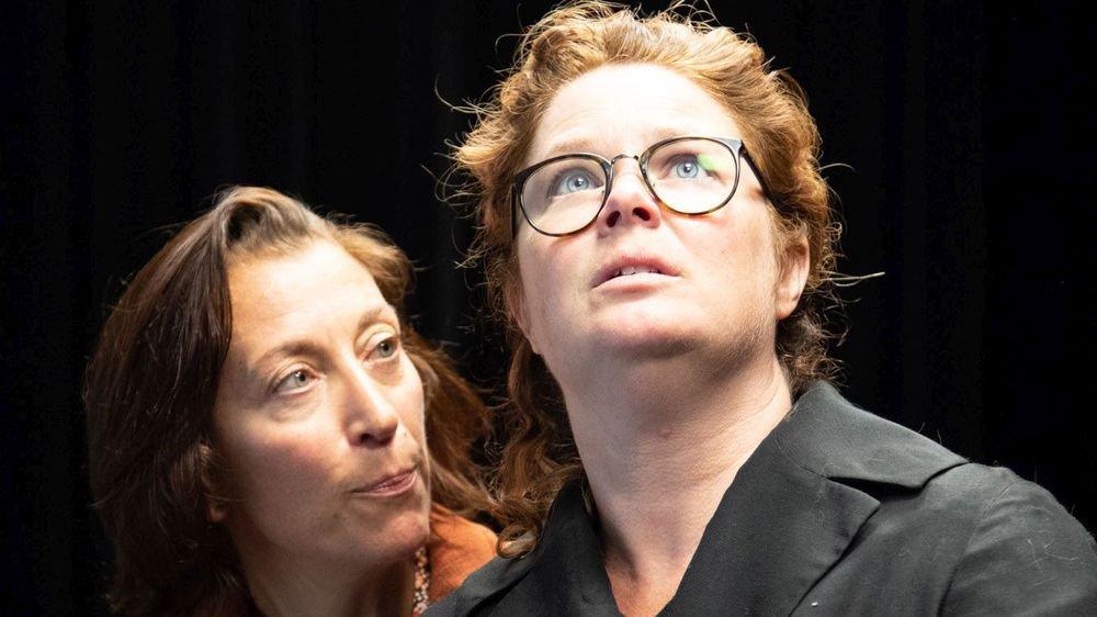 Les deux frangines Isabelle Kernen (à droite) et Nathalie Poupet.