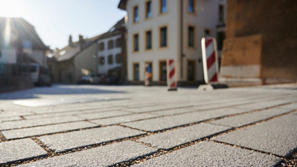 La première phase de travaux au centre de Saint-Blaise a duré douze mois au lieu de cinq et entraîné un surcoût d'un demi-million de francs.