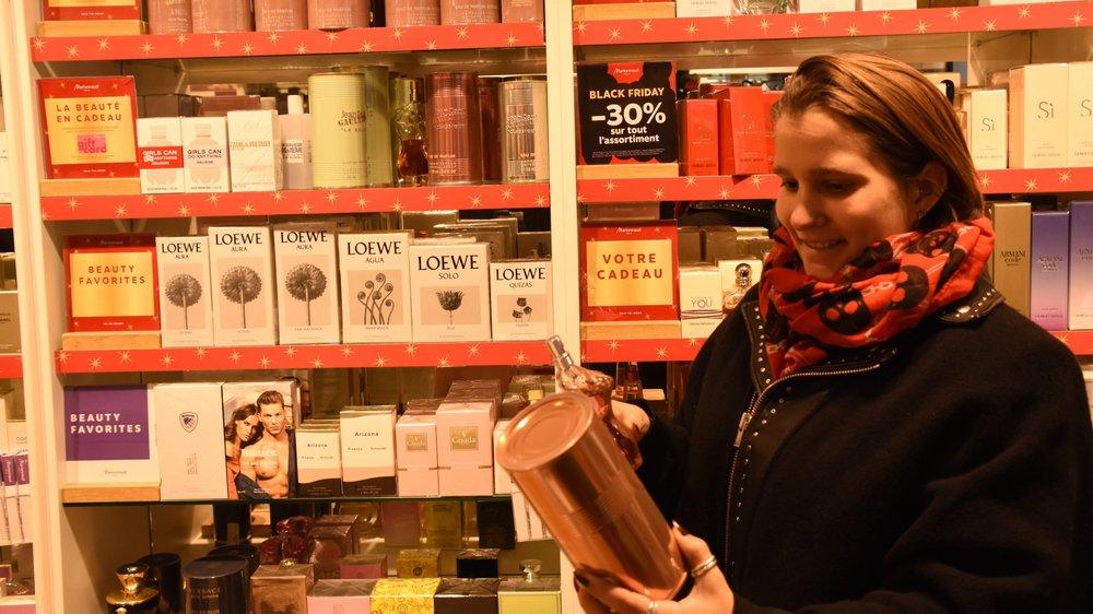 Vicky Huguelet a cherché de bonnes affaires lors du Black Friday.