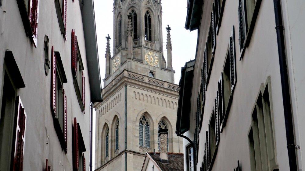 Patrimoine L'architecture de Saint-Gall est l'un de ses principaux atouts touristiques.