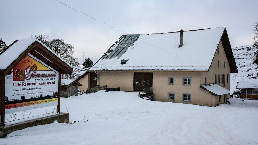 Fondeurs et amateurs de raquettes pourront se sustenter chez les Germann-Viscardi, à la métairie des Gümmenen, encore cet hiver.