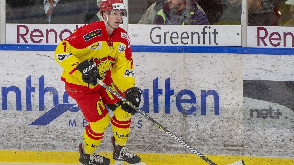 Le défenseur Eliott Meyrat s'est fait une place à Graben.