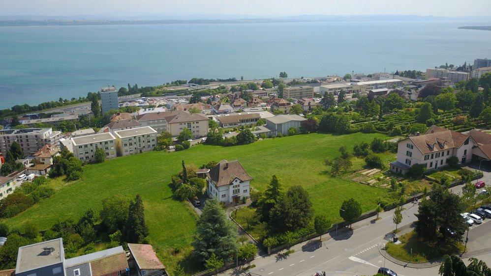 Le nouveau quartier Beauregard-Dessus à Neuchâtel pourrait accueillir 350 habitants.