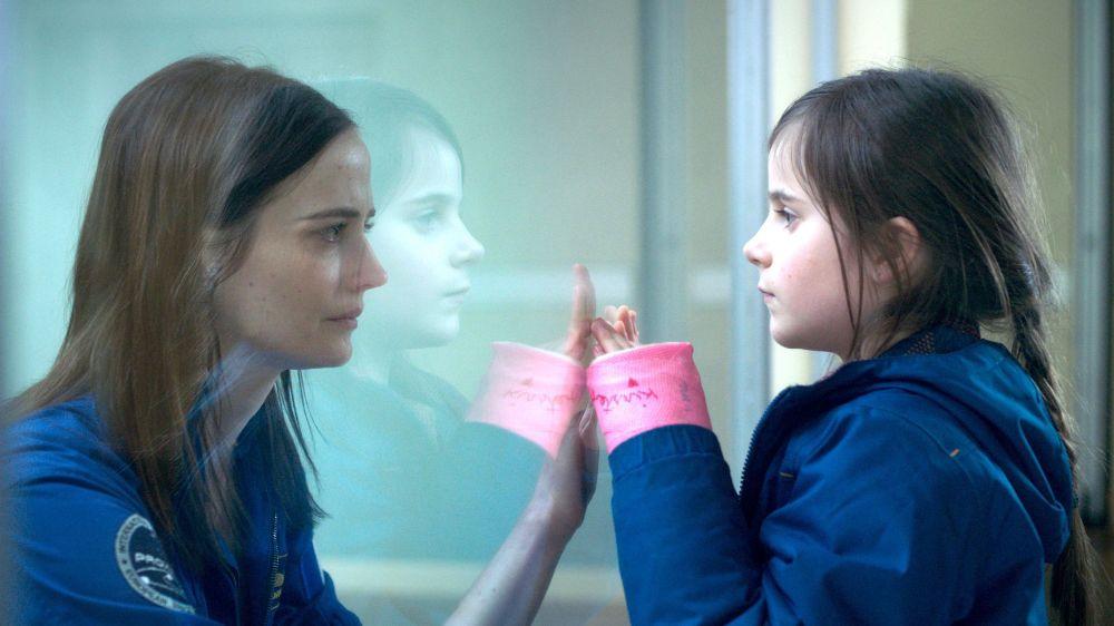 Sarah (Eva Green) et sa fille Stella (Zélie Boulant-Lemesle).