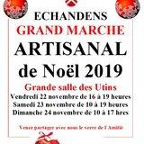Marché de Noël des Artisans d'Echandens