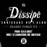 """Dissipé-Vernissage de l'album """"Ennemi Public N°1"""""""