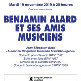 Benjamin Alard et ses amis musiciens