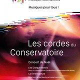 Les cordes du Conservatoire - Concert de Noël