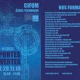 Portes ouvertes 2019 de l'Ecole technique du CIFOM