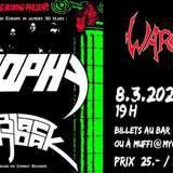 Atrophy (USA)/ Black Sachbak (ISR) / WarclaW (VS)
