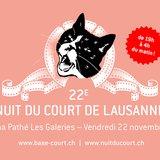 22e Nuit du Court métrage de Lausanne