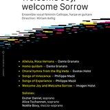 Welcome Joy, Welcome Sorrow