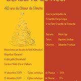 40 ans du Choeur de l'Amitié - Concerts de Noël