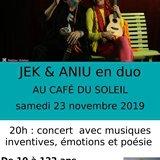 Jek et Aniu Concert