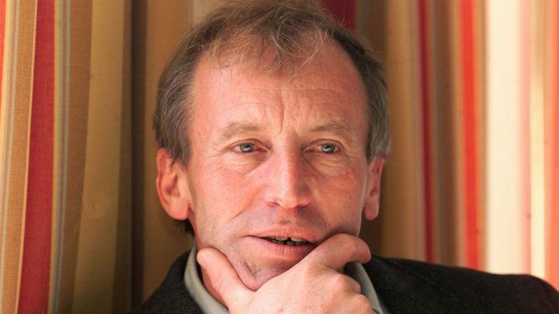 Fernand Cuche en novembre 2000, un peu plus d'une année après son élection au Conseil national.