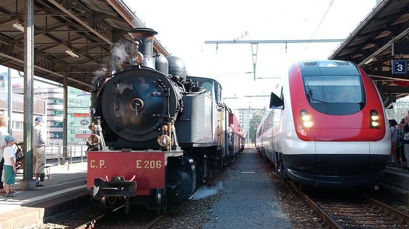 En 2004, le projet de RER neuchâtelois dévoilé