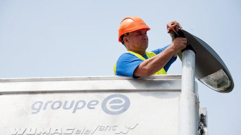 Le Groupe E et ses société emploient plus de 2000 personnes.