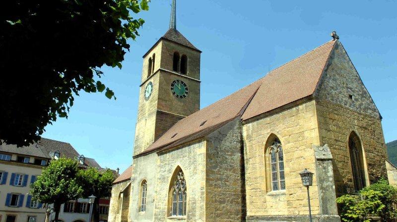 22'000francs pour restaurer le temple de Saint-Blaise