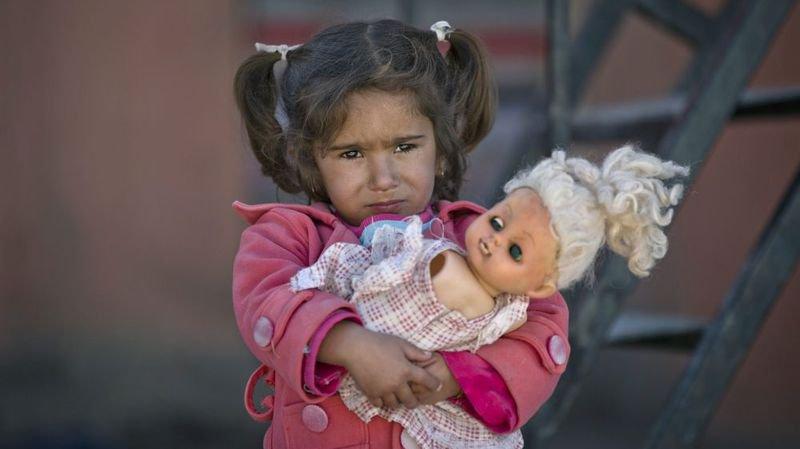 Guerre au Moyen-Orient: les enfants une fois de plus victimes des arrangements des grands.