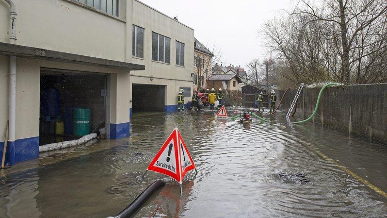 Val-de-Travers: des millions pour l'évacuation des eaux