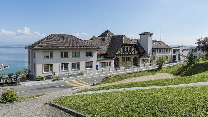 Désaffecté depuis janvier 2016, l'hôpital de La Béroche va devenir propriété du canton sous peu.