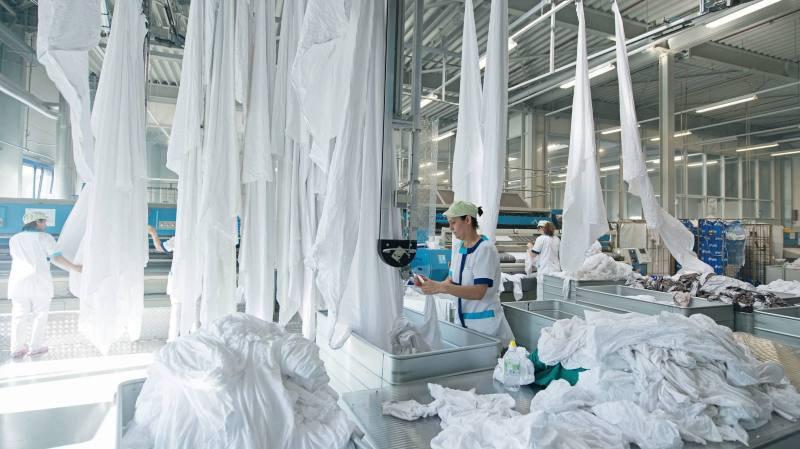 La blanchisserie industrielle Blanchâtel en 2015.